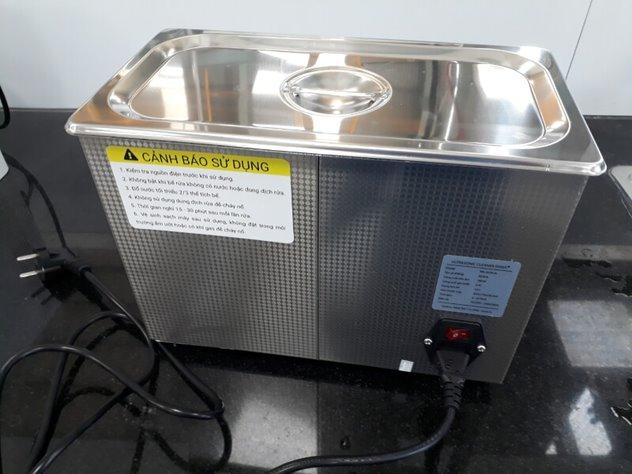 nhiệt độ bể rửa siêu âm