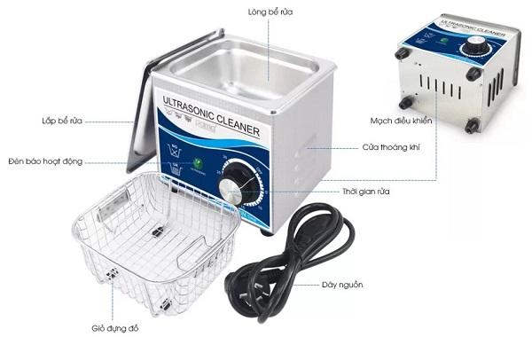 ứng dụng bể rửa siêu âm