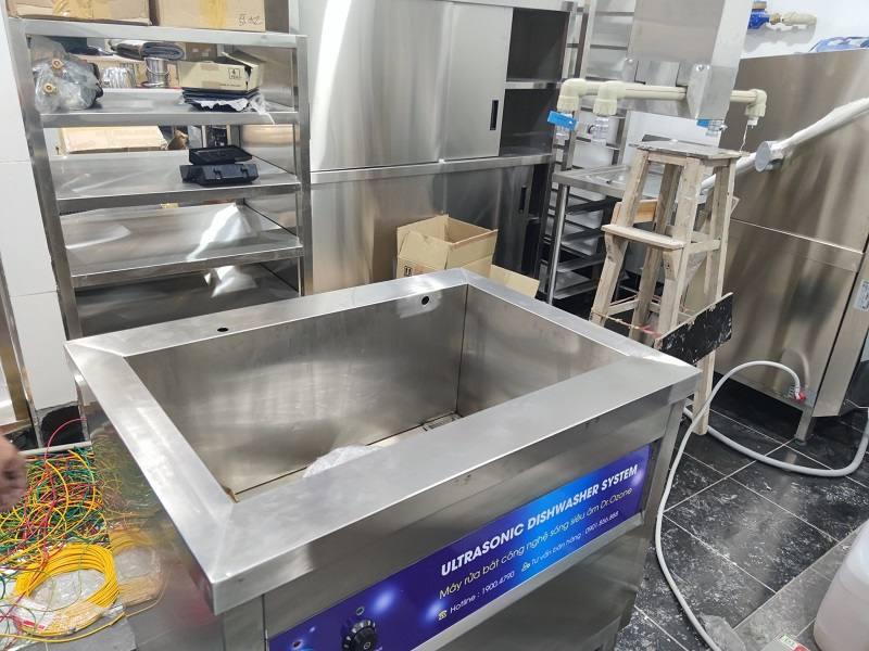 bể rửa khay công nghiệp rama