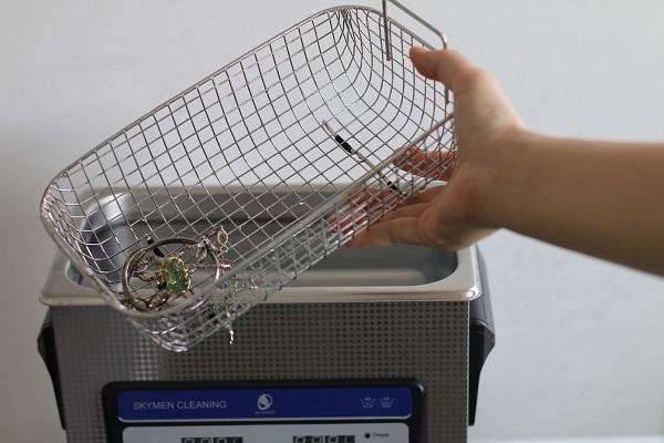 máy rửa trang sức siêu âm